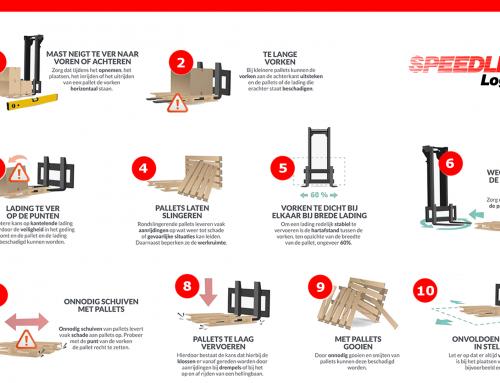Top 10 meest gemaakte fouten die leiden tot palletschade